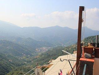 Cinqueterre - Terrace & beautiful view - Terrasse et vue magnifique