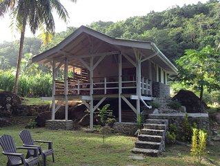 Guava-Cherry riverside cottage