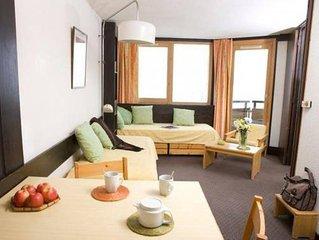 Appartement T2 Avoriaz pied des pistes  linge fourni, reductions sur forfait ski