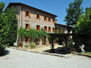 In a Nineteenth- century house original stone apartments B&B in the Euganean Hil