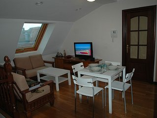 Penthouse Central, Sunny, New, Quiet, Very Charming And Cosy