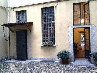 Monolocale su due livelli in casa del '700, a soli 400m da Piazza Duomo