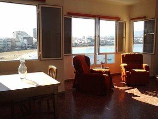 Precioso apartamento para 4 personas en Primera Línea de la playa de Las Cantera