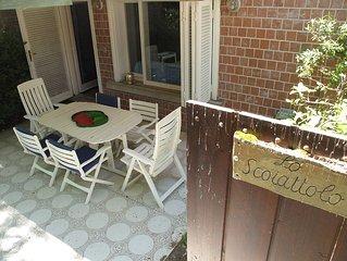 Appartamento con giardino a Punta Ala nel Comprensorio del Gualdo, GR, Toscana