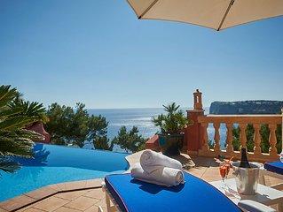 Grosszugiges Apartment auf Mallorca mit Privatpool und Meerblick