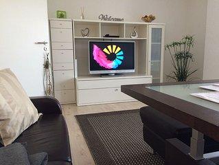 Exklusive Ausstattung in 65 qm Wohnflache verteilen sich auf, ein Wohnzimmer (au