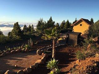 Gemütliche Bodega in traumhafter Natur in den Weinbergen von Puntagorda