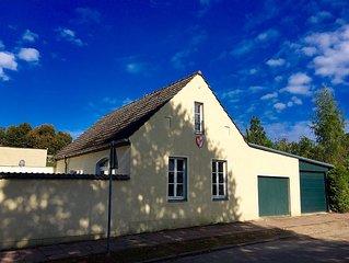Ferienhaus in der Remise der Prinzenstadt Rheinsberg