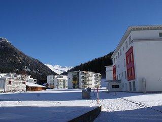 Familienfreundliche Traumferienwohnung in bester, ruhiger Lage in Davos-Dorf