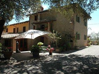 Maison rustique dans le Chianti