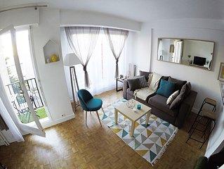 studio cosy 24m2 confort et balcon