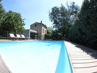 Villa de vacances 170m2 pour 8 pers. avec piscine, proche mer/montagne et Ceret