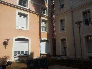 Appartement en plein ceour de Montpellier, 4 personnes, 1 chambre, tout confort