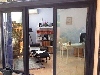 Jolie maison a 2 pas du centre sur la route de la Sainte Victoire