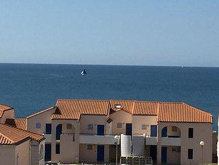 Superbe appartement 2/4 avec balcon et vue sur mer