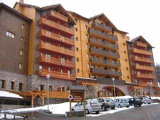 Appartement duplex dans residence 4 etoiles 8 personnes 70m2
