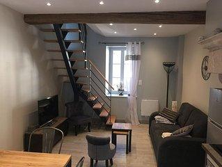 Maison , 4 pers ,située en plein centre de Meursault,et à 7km de Beaune