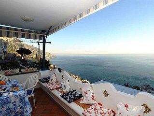 apartment-sea view-amalfi coast-positano