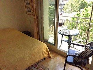 Appartement confortable, clair et calme