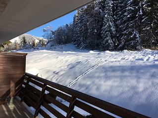 Apartment 4 people Megeve - Rochebrune - renovated with parking