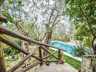 Famille, vue sur la mer, villa privee, piscine privee, air conditionne