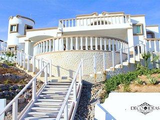 Oceanfront  Beach Casa de los Abuelos (Grandparent's House), events allowed