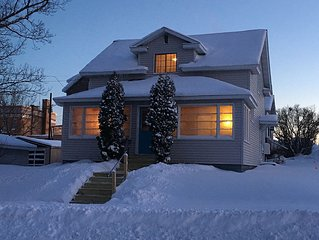 Cozy home, right in town, enjoy 4 seasons of Northwoods Fun.