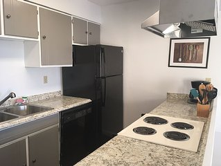Newly remodeled, family-friendly 2-bedroom condo