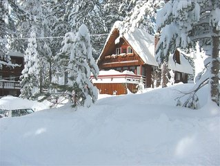 Squaw Valley House  ski area views and spa.NEW YEARS WEEK AVAILABLE!