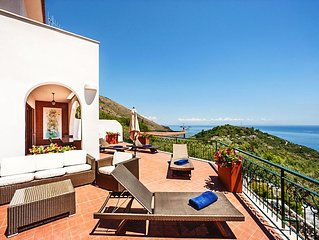 Villa-sea View-400 M from the Sea-swimming Pool-parking-wi Fi