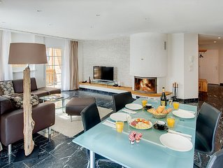 Modern 93sqm apartment with 2 bedrooms directly in the skiing area