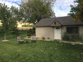 Boise Foothills Guest Cottage, Located in Heart of City's Coveted Trail System