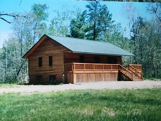 Cabin retreat in NW, WI. woods within a stones throw from the Namekagon river