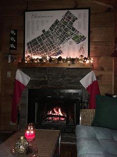 Fireplace/Christmas