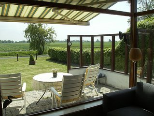 Bungalow With Panoramic Views And Swimming Pool Close To Schagen And Beaches