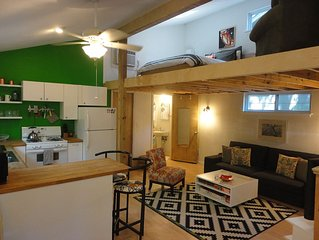 Best Central Location/Private Urban Oasis/ Travis Heights Near SoCo & Downtown