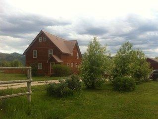 6 BDRM Mountain home near Jackson Hole and the Tetons