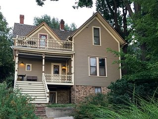 Boulder Finest Downtown AND Mountain Location – Garden Apt. at Historic Home