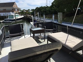Home on the water,  June-Sept Season rental every other week