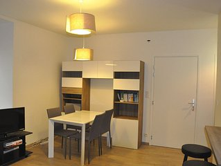 Very nice apartment T2 near the historic center and the port of Vannes