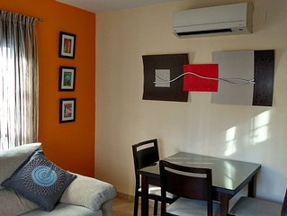 Central apartment with free WiFi and air conditioning