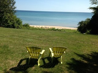 On Lake Huron:   Gorgeous and secluded lakefront home.