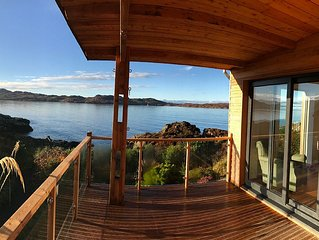 Stunning seaside home in the Scottish Highlands with its own private coastline