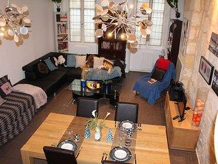 Appartement Tourny Fonfaudege jardin public Bordeaux chaleureux  et confortable