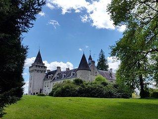 Chateau des Egaux in south central  France