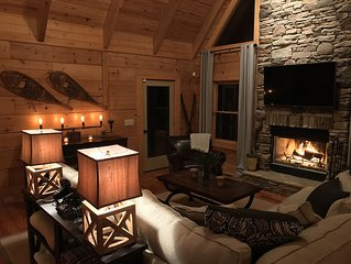 Aspen Ridge NC - A Carefully Decorated Upscale NC Mountain Cabin