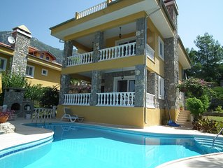 Four bedroom villa in quiet location only 20 mins from Dalaman airport