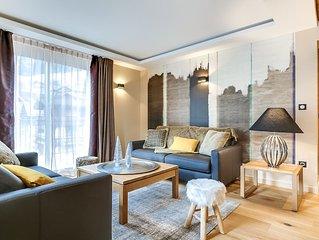 Appartement 6 personnes, centre village du Grand Bornand, à 500 m des pistes