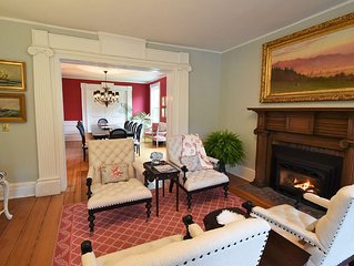 Private Luxury Suites in Downtown Skaneateles in Quiet Location Off Main Road