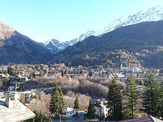 Trilocale a Dolonne, a due passi dalle piste da sci